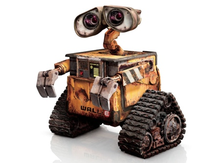 Wall·E, Disney Pixar's portrayal of the prototypical planetary rover. (Credit: Disney/Pixar)